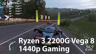 Ryzen 3 2200G Vega 8 - 1440p Gaming in 10 Games - Benchmark Test