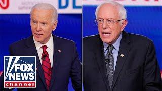 Biden, Sanders slam Trump's coronavirus response during debate
