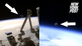 During a recent livestream event from the Progress spacecraft, two ...