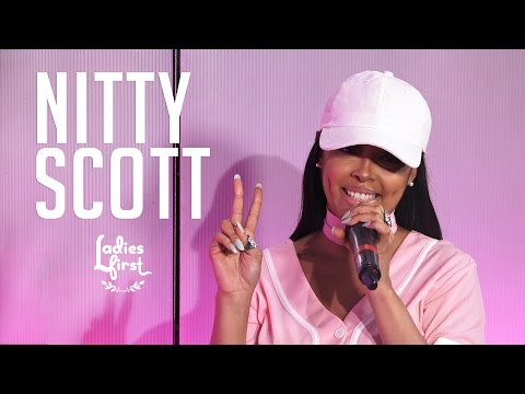 Nitty Scott On Running Away, Fake Female MC Rules & Performs on Ladies First
