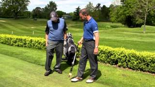 Golf ball Pickup and Tee-Up - Take the Strain from Your Game!