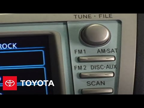 2007 - 2009 Camry How-To: Turning On/Off - Navigation System | Toyota