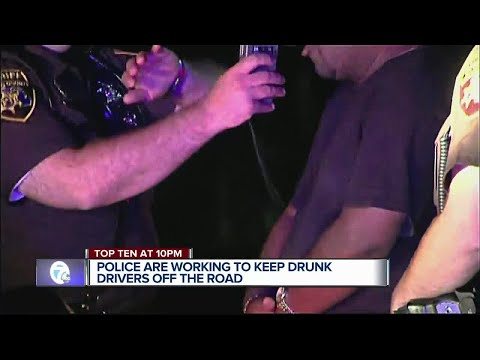 Police cracking down on drunk drivers in Metro Detroit