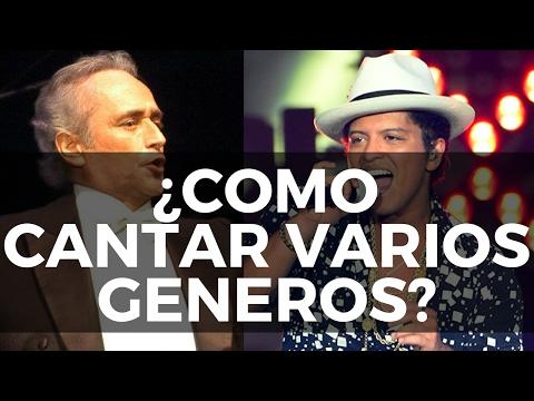 COMO CANTAR VARIOS GENEROS MUSICALES