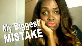 DATING IN LONDON   MY BIGGEST MISTAKE