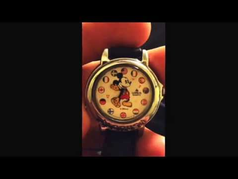 Musical Mickey Mouse watch. Mar 3, 2015