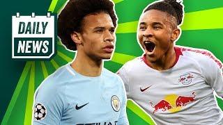 FC Bayern: Sané & Pépé-Transfers vermasselt? PSG-Talent zu Leipzig, Kruse in die Türkei?