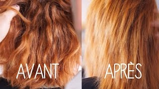 La Taninoplastie: le nouveau SOIN lissant SANS FORMOL qui va transformer vos cheveux.
