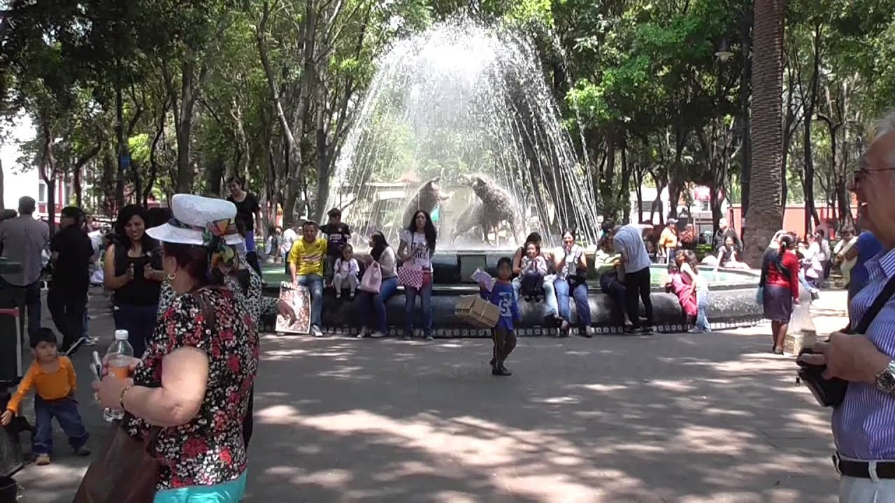 Viveros de coyoac n a park in coyoacan district mexico for Viveros coyoacan