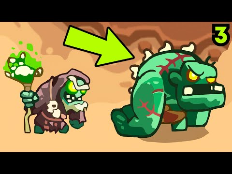 Золотая Пивоварня и Пьяные Гномы! -  Kingdom Rush Vengeance # 3 Андроид Игры