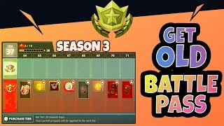 How to get back *OLD* Battle Passes (Season 2,3,4,5) Updated Tutorial