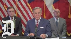 Texas governor announces day cares can open immediately, bars can reopen on Friday at 25%