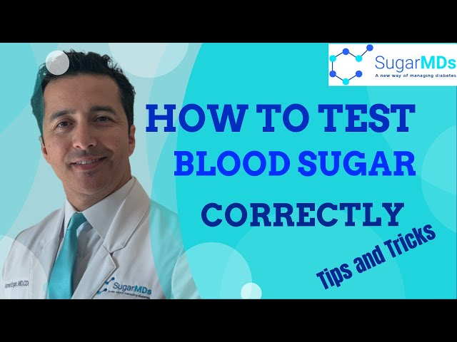 Do you know how to check (test) blood sugar correctly? Here are some tips & tricks-SUGARMD