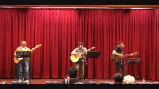 2010.3.6 あぼしまち交流館で開催されたフォークライブ(3A設立記念)...