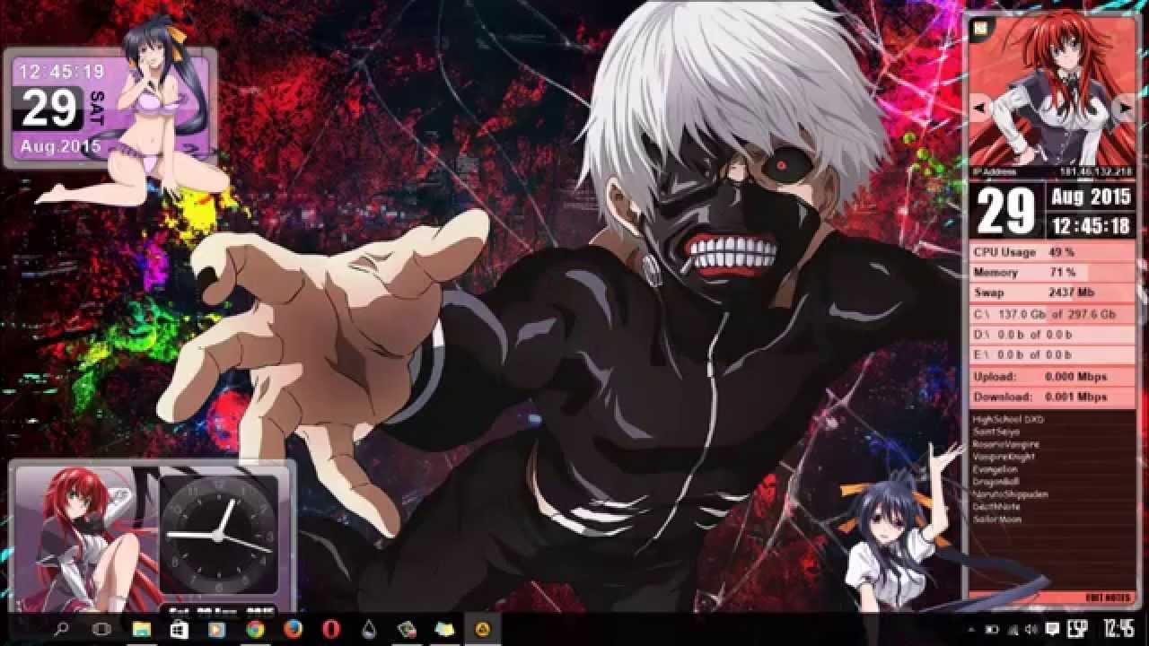 fondos anime windows: Temas De Anime Para Windows 8 , 8.1 (W10)