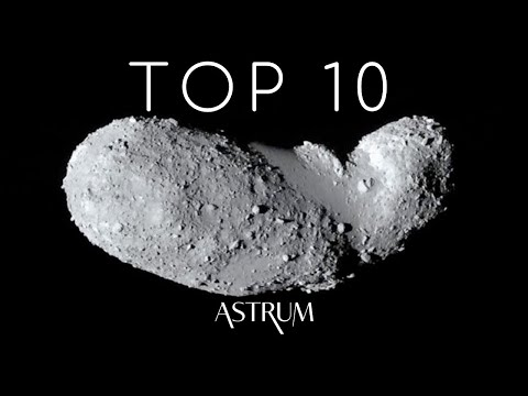 Top 10 Most Astonishing Asteroids w/ Scott Manley