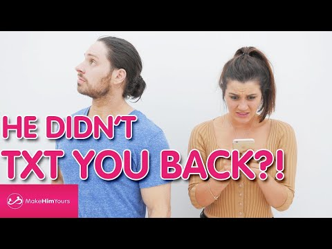 What To Do When He Doesn't Text Back [Texting Tips]