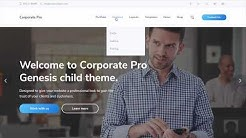 Corporate Pro Theme Installation
