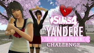 The Sims 4 ♥️ Yandere Simulator Challenge ♥️ • Kotełek dla Ayano  • ♥️ [Odc.9]