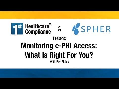 Monitoring e-PHI Access- What Is Right For You?