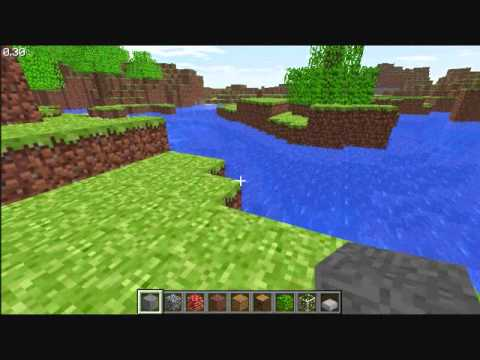 Minecraft classic demo youtube for Mine craft free demo