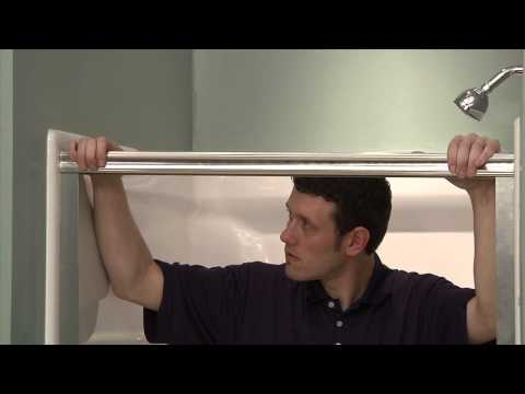 Pivot Shower Door Installation