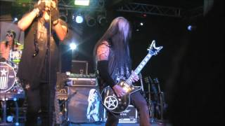 Pretty Boy Floyd Backstage Live! in San Antonio, Texas July 7, 2012