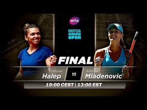 2017 Mutua Madrid Open Final Preview | Simona Halep vs Kristina Mladenovic