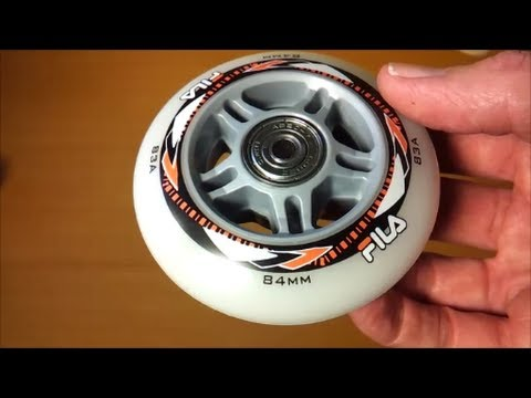 How To Replace Inlineskate Rollerblade Wheels