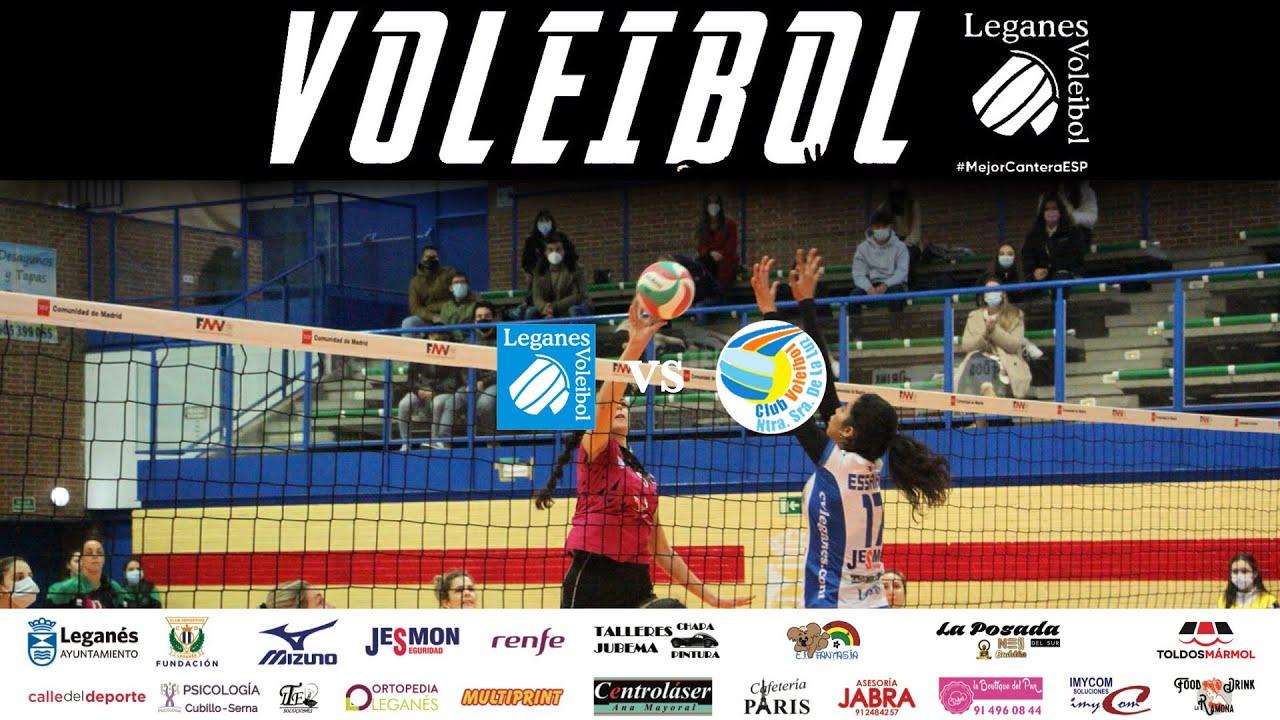 🎥 Resumen de la jornada: SF2 | Voleibol Leganés vs Extremadura Arroyo
