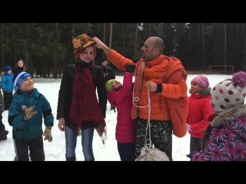 Проведение Масленицы своими силами, Русские народные игры для детей на свежем воздухе