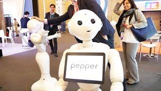 Самый крутой андроид в мире -- Pepper