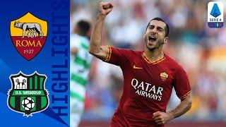 Roma 4 2 Sassuolo Micki Scores First Roma Goal in Big Win Serie A