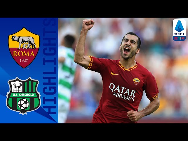 Roma 4-2 Sassuolo | Micki Scores First Roma Goal in Big Win! | Serie A