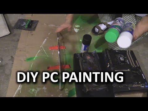 How To Paint Your PC Parts - Linus Plasti Dip Method