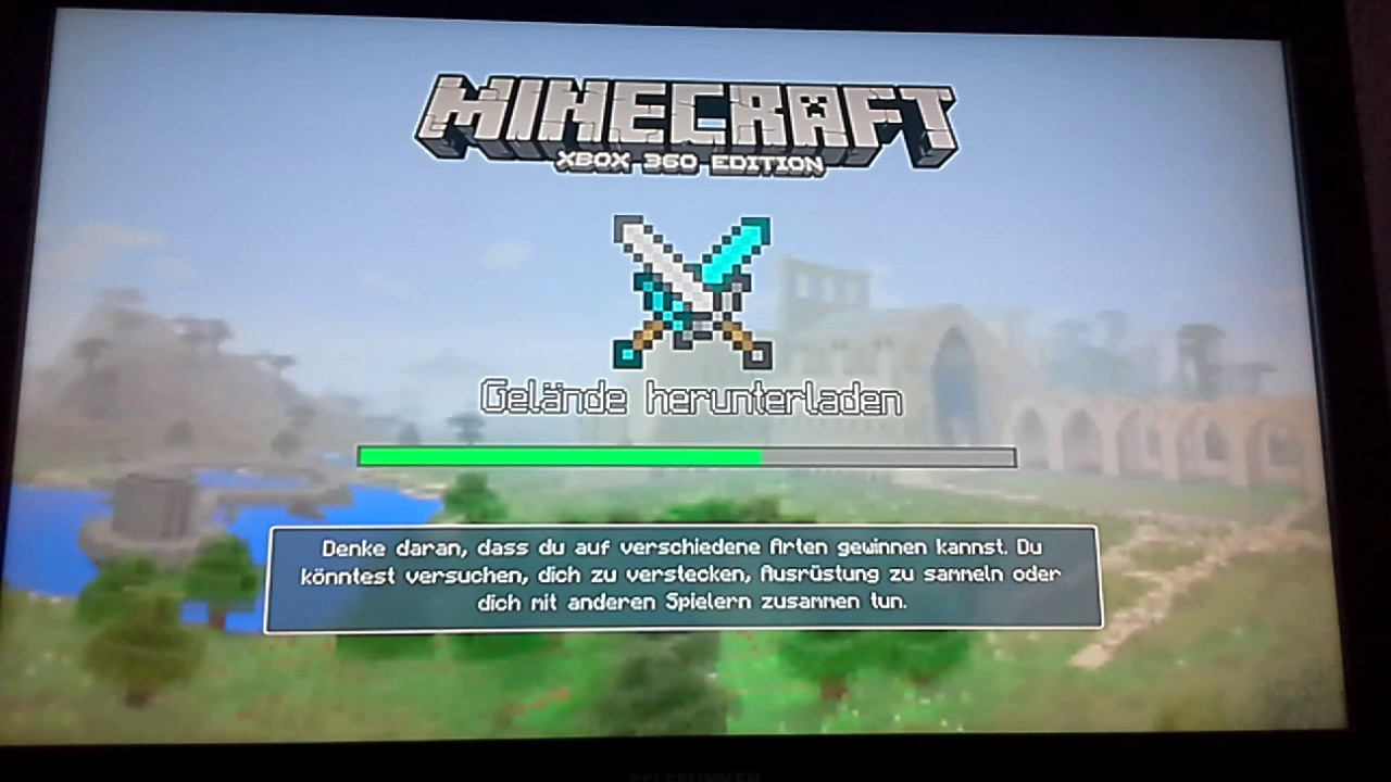 Minecraft Xbox Wir Spielen Online YouTube - Minecraft online spielen xbox 360