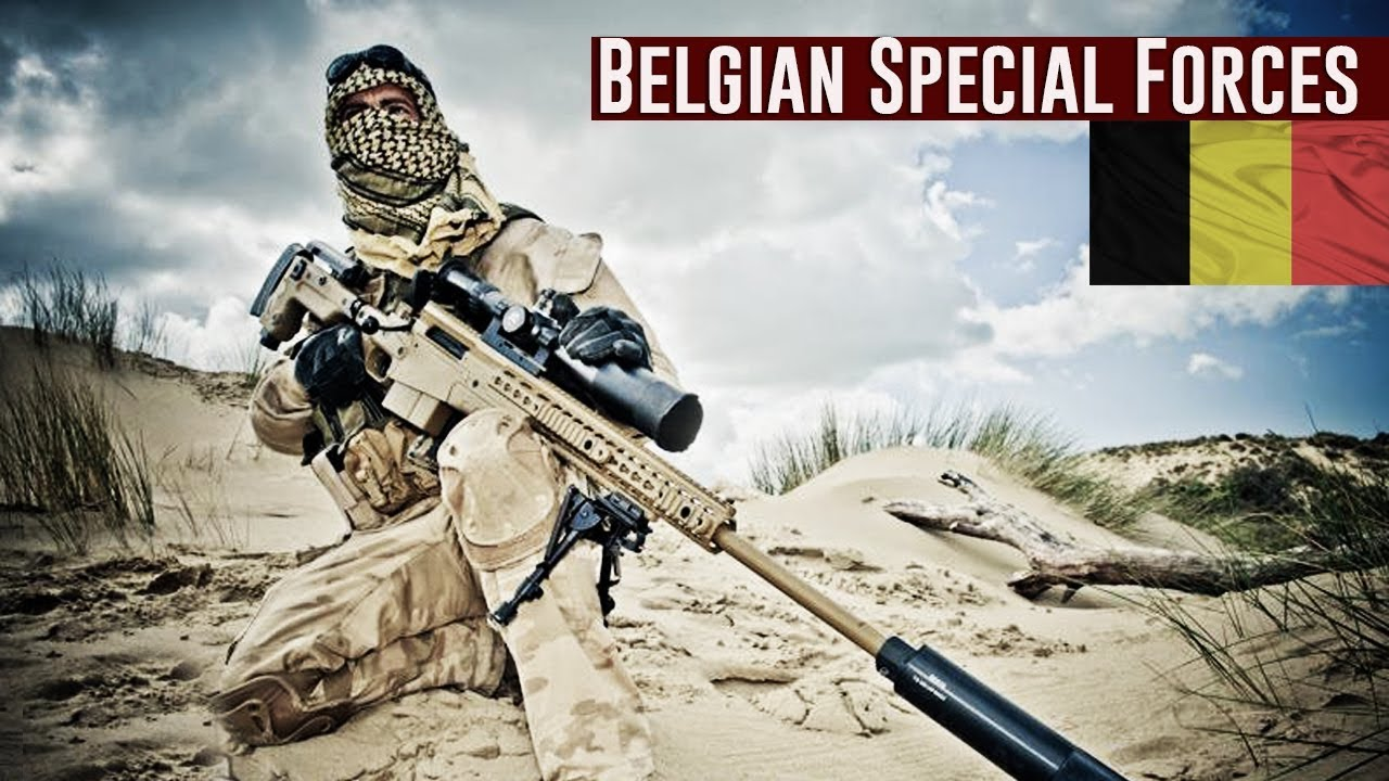 Download Belgian Special Forces Group 2019   CGSU / SFG
