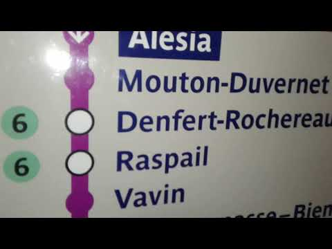 Как ориентироваться в метро Парижа