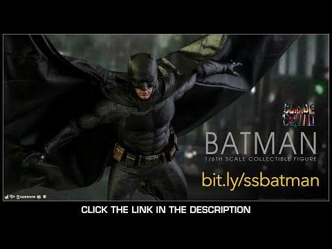 Suicide Squad Hot Toys Batman Movie Masterpiece 1/6 Scale Figure Sideshow Exclusive Review