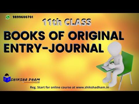 #1 journal entries for business start