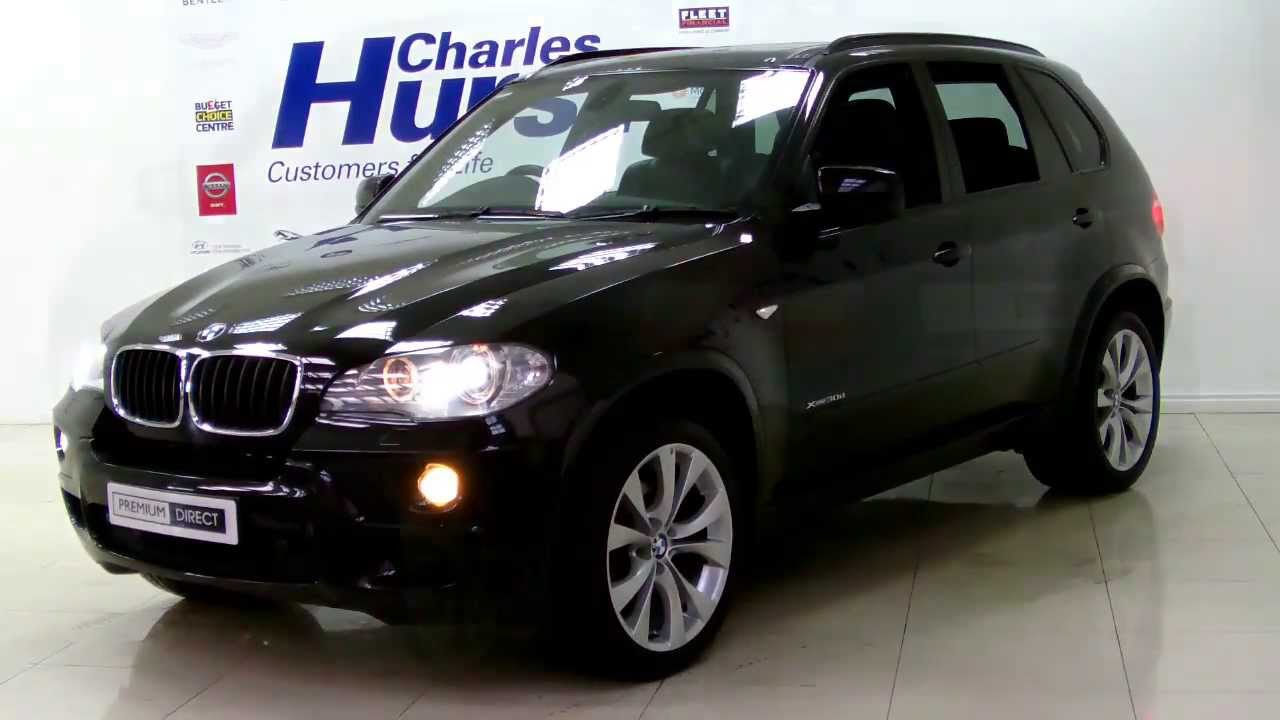 bmw x5 xdrive30d m sport black 2009 premium direct belfast charles hurst youtube. Black Bedroom Furniture Sets. Home Design Ideas