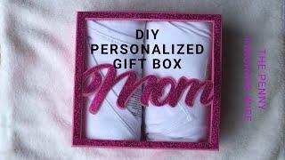 Diy Gift Box/ Creating Offset/cricut Project