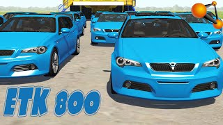 etk 800 series crashes and cinematic preview beamng drive