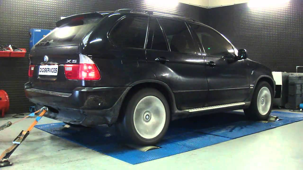 reprogrammation moteur bmw x5 3l0 d 218cv 241cv dyno digiservices youtube. Black Bedroom Furniture Sets. Home Design Ideas