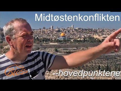 Midtøstenkonflikten -hovedpunktene