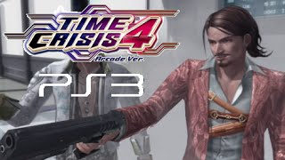 Time Crisis 4 Arcade Ver. playthrough (PS3)