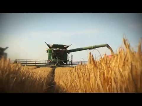 Prezentacija u polju - John Deere S serija kombajna