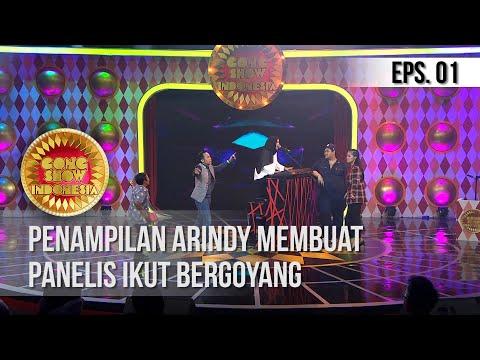 GONG SHOW INDONESIA - Penampilan Arindy Membuat Panelis Ikut Bergoyang