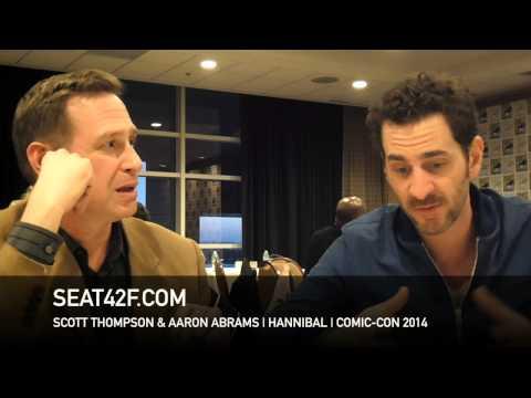 Scott Thompson & Aaron Abrams HANNIBAL Comic Con 2014 Interview