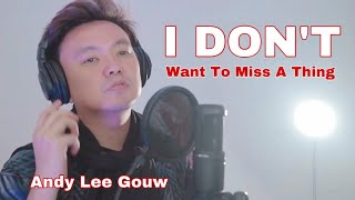AEROSMITH - I DON'T WANT TO MISS A THING (ANDY LEE GOUW COVE…